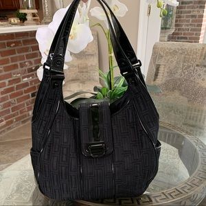 VERA BRADLEY BLACK QUILTED SHOULDER BAG!🖤